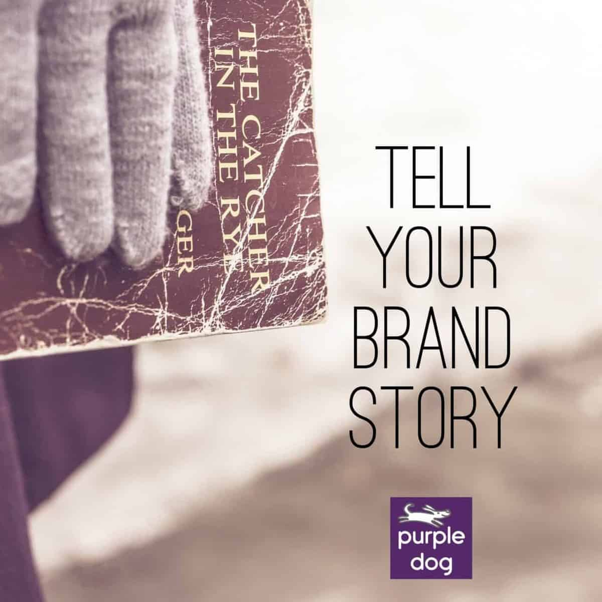 Use your blog to help tell your brand story