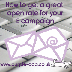 How to get a great open rate with Emarketing