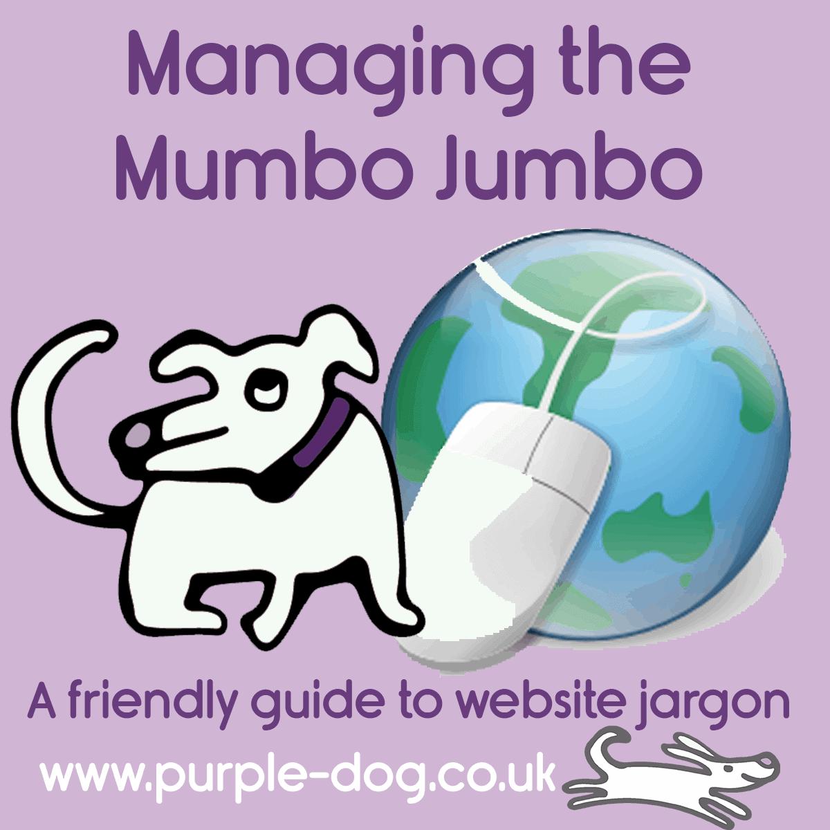 Managing the Mumbo Jumbo - your friendly guide to website jargon