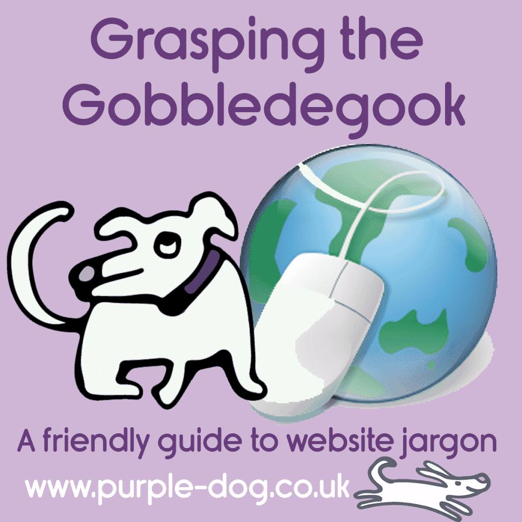 grasping the gobbledegook of website jargon