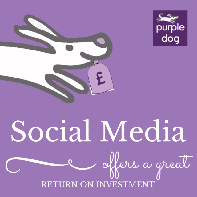 Social media can offer great return on investment