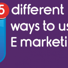 5 different ways to use E-mail marketing