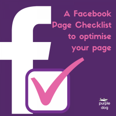 Facebook Page Checklist to optimise your page