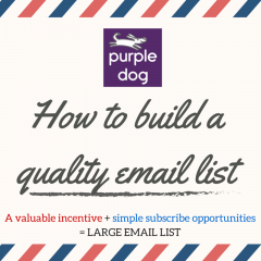 Why you need to build your email list