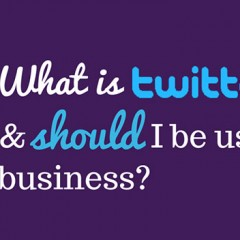 What is twitter and should I be using it for business?