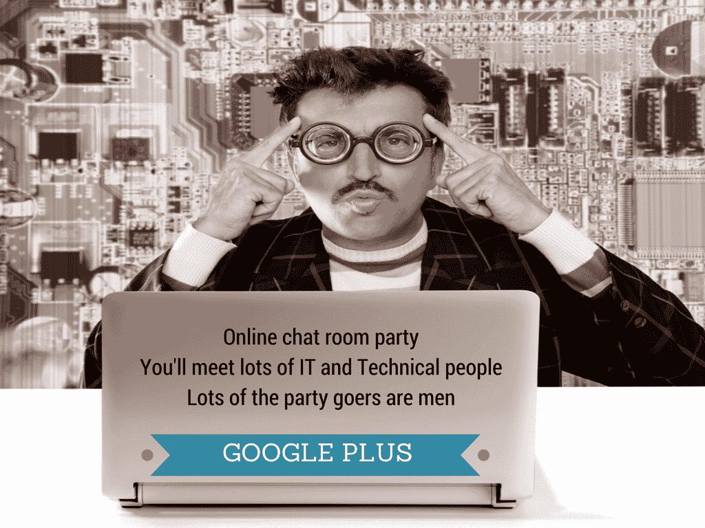 google plus - is it a bit geeky