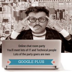 Google plus – is it a bit geeky?