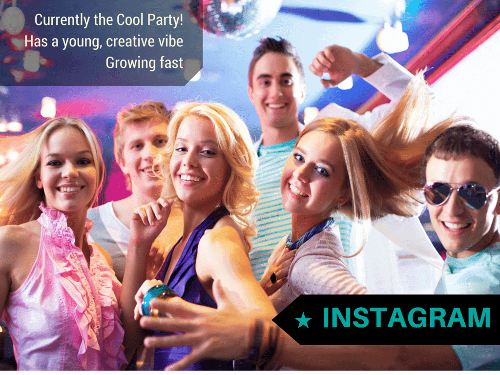 instagram is the cool social media