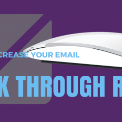 How to get a great click through rate using E marketing