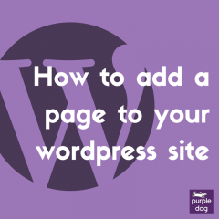 how to add pages to your website