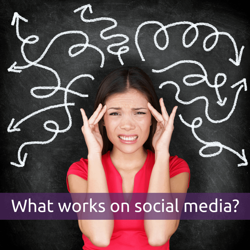 What works on social media?