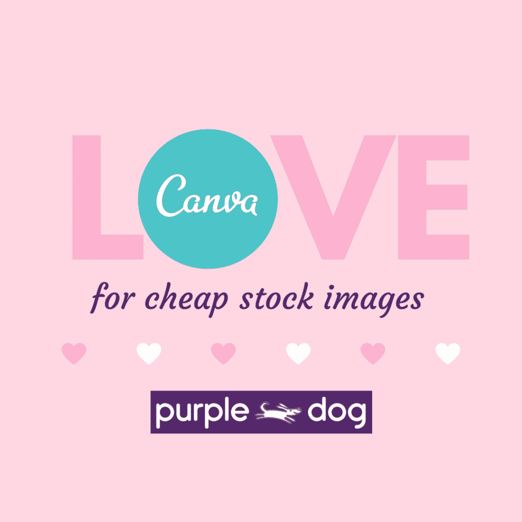 love canva for cheap stock images
