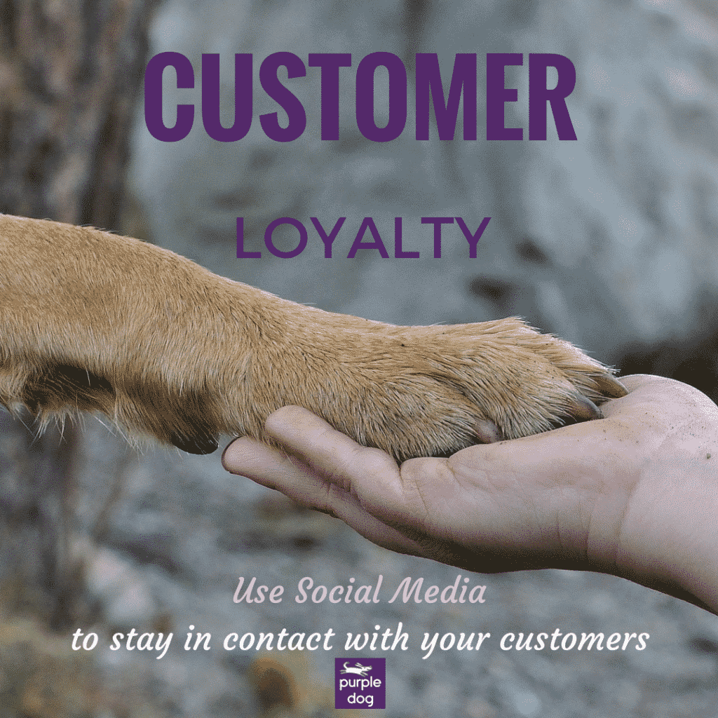 CUSTOMER Loyalty can be improved with social media