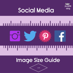 Social Media Image sizing reference guide 2017