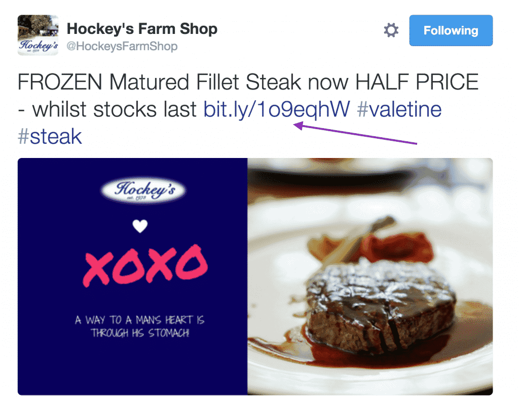 hockeys farm steak link in twitter