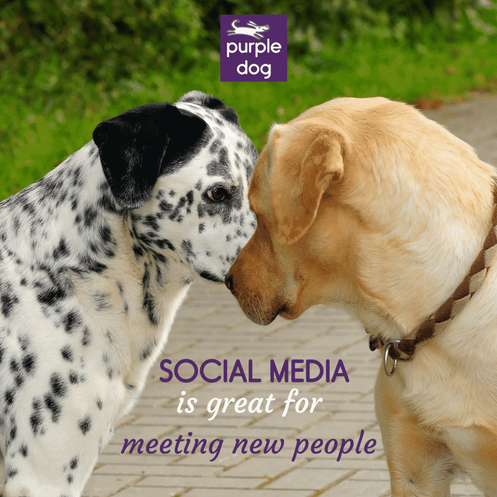 Social media is great for meeting new people