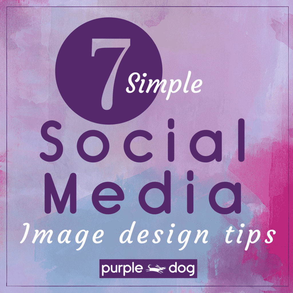 social media image design tips