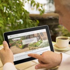 New website for Setley Ridge Garden Centre
