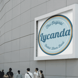 Logo design for Lycanda Blues Band