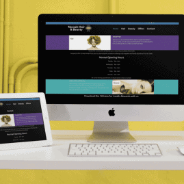Website Redesign for Nevaeh Hair Southsea