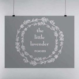 Logo Design for The Little Lavender Room