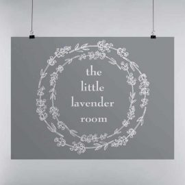 Logo Design for The Little Lavender Room