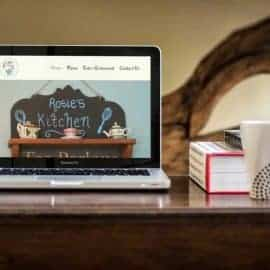 Website Design for Rosie Lea Tea Rooms