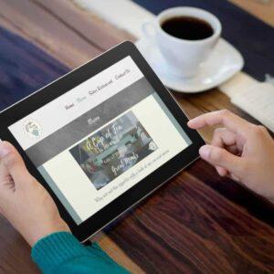 Website Design for Rosie Lea Tea Rooms