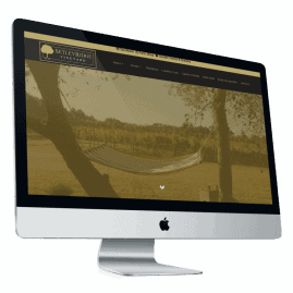 New website for Setley Ridge Vineyard