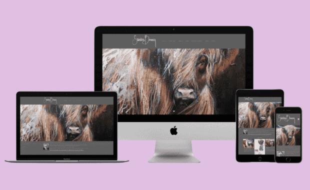 Website for Sandra Binney Art