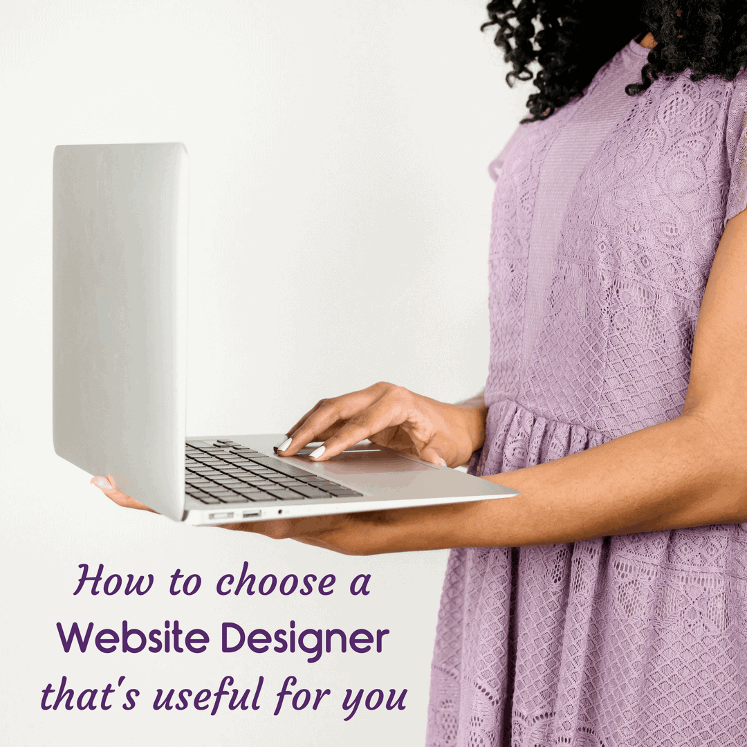choose a website desigher