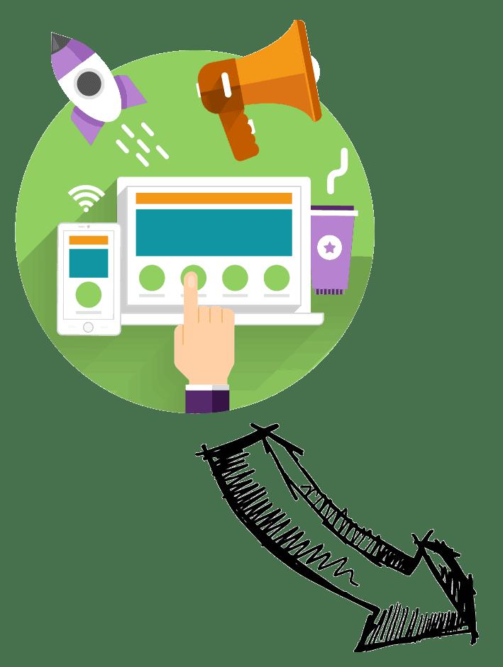 launch your website design