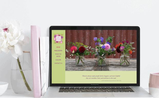 Website Design for Garden-Cottage-Flowers