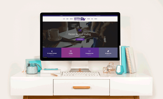 Website Redesign for Universal PA Services