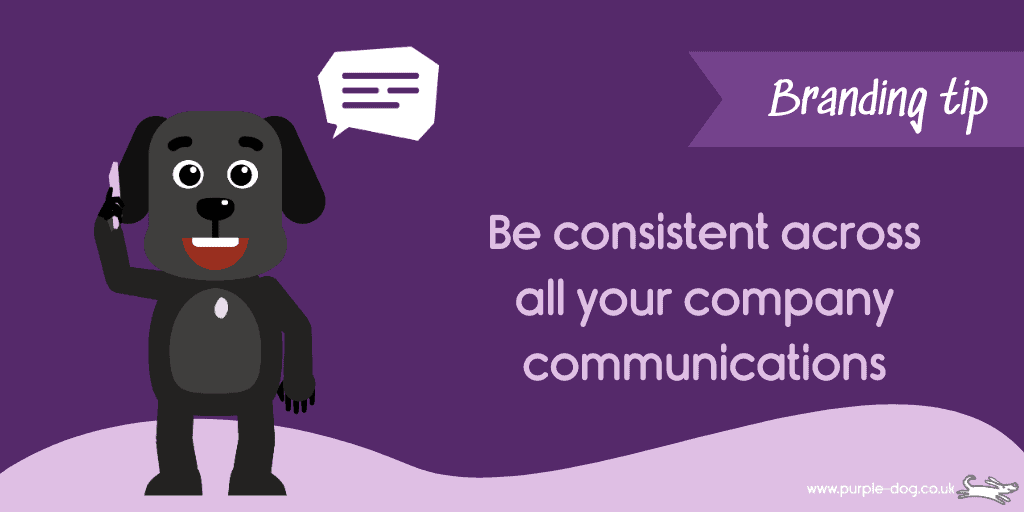 keep branding consistent in all your customer communications