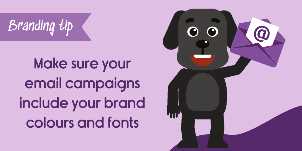 use branding in your email marketing