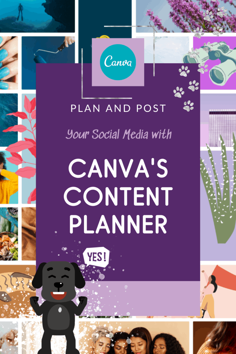 Plan and Post with Canva Pro