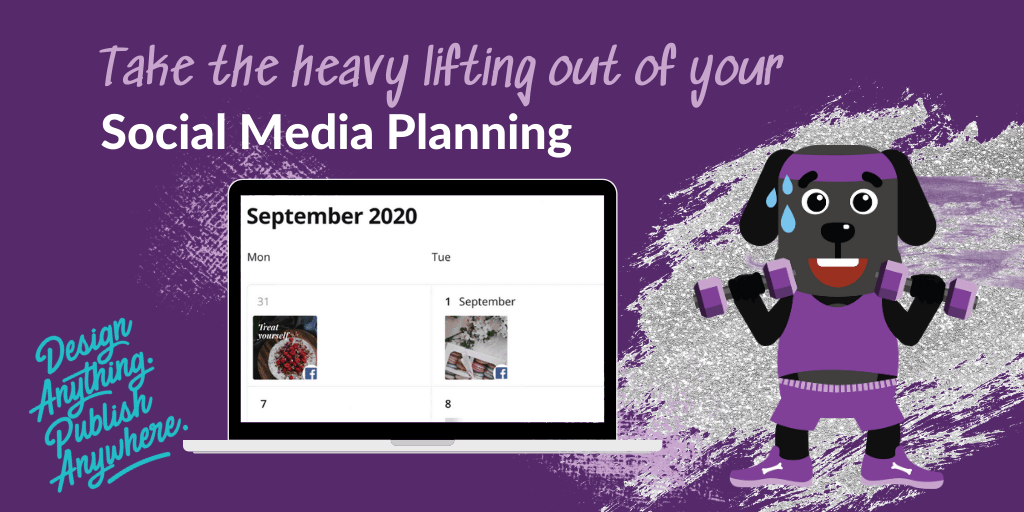 Take the heavy lifting out of your social media planning