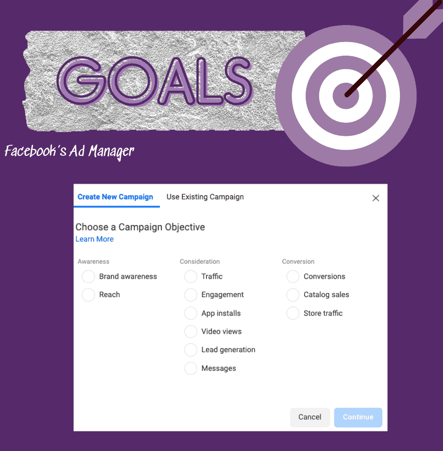 goals for your Facebook ad