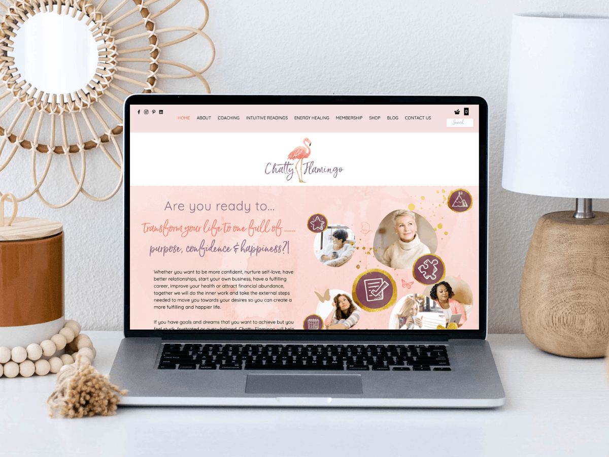 Website Upgrade for Chatty Flamingo