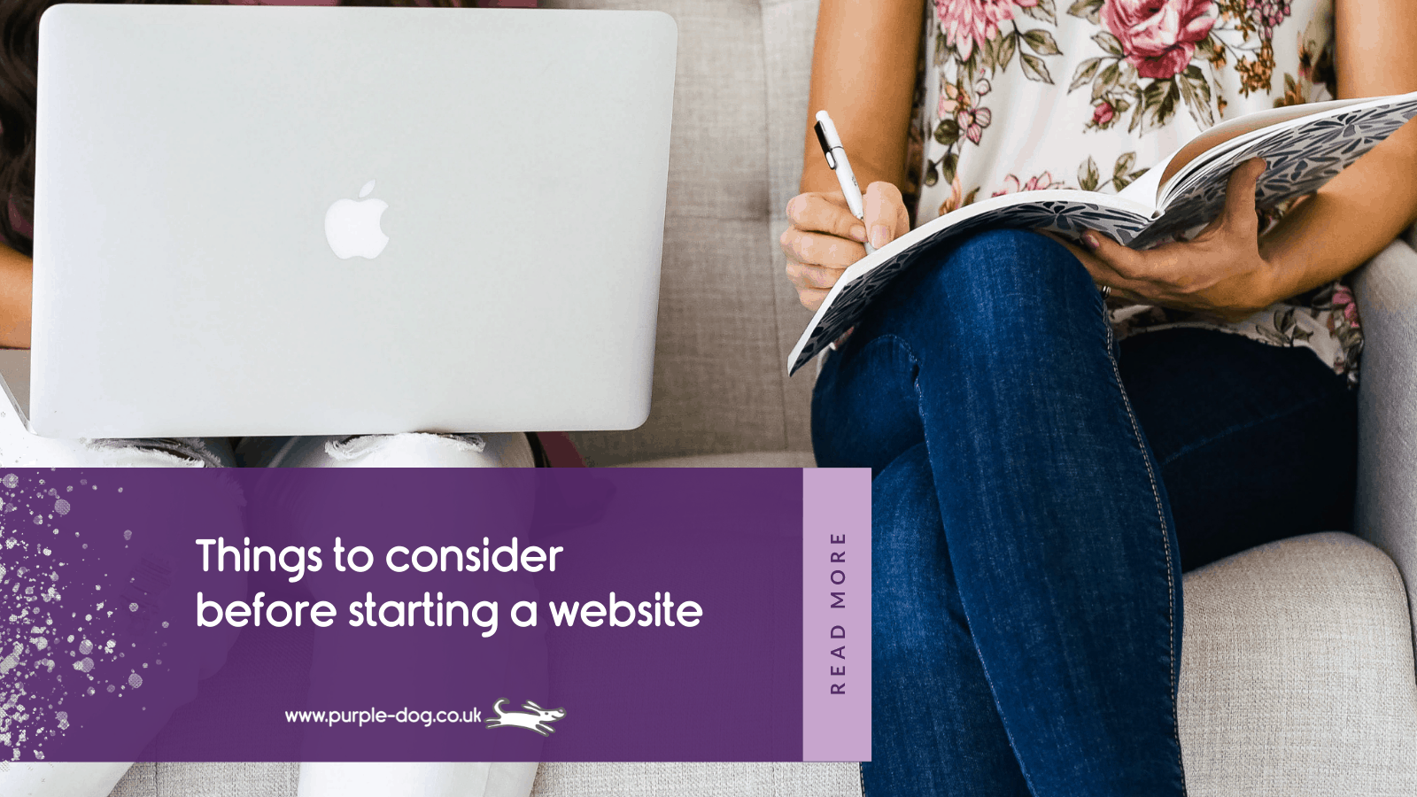 Things to consider before starting a website