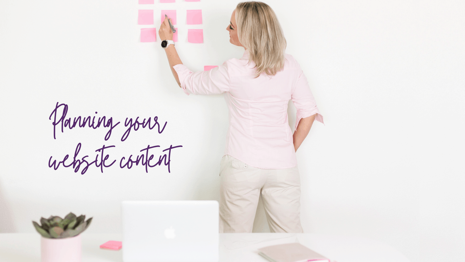 planning your website cotent