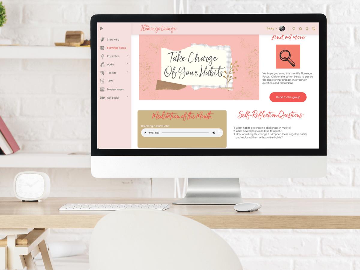 Website Design The Flamingo Lounge