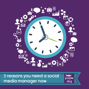 3 reasons you need a social media manager now